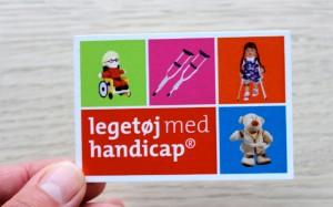 Legetøj med handicap – visitkort