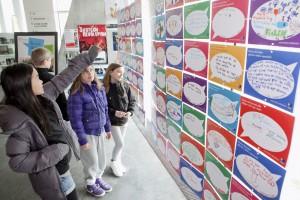 Udstillingskoncept for elevinddragelse